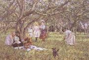 James Charles The Picnic oil painting