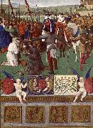 Jean Fouquet The Martyrdom of St James the Great oil painting reproduction