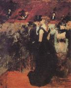 Jean-Louis Forain Ball at the Paris Opera oil painting
