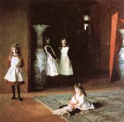 John Singer Sargent The Boit Daughters oil painting reproduction