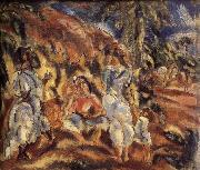 Jules Pascin Landscape of Cuba oil painting reproduction