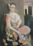 Marie Laurencin Mrs Lumasi oil painting