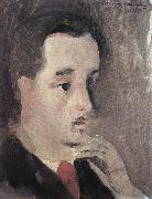 Marie Laurencin Portrait of Qiang oil painting