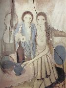 Marie Laurencin Portrait of sister oil painting