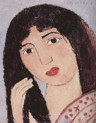 Marie Laurencin Portrait of younger girl oil painting