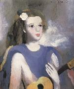 Marie Laurencin The Girl take t he guitar oil painting