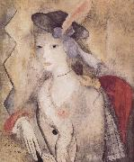 Marie Laurencin The Queen of Spain oil painting