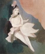 Marie Laurencin Lida and Goose swan oil painting