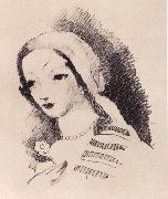 Marie Laurencin Portrait oil painting reproduction