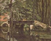 Paul Cezanne The Bridge at Maincy oil painting reproduction