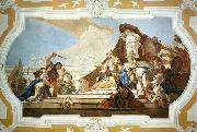 TIEPOLO, Giovanni Domenico The Judgment of Solomon oil painting reproduction