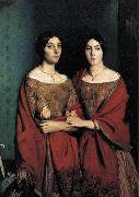 unknow artist The Artist-s Sisters oil painting reproduction