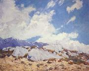 Alson Clark California Mountains oil painting