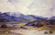Anna Hills San Gorgonio from Beaumont oil painting