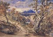 Anthony Vandyck Copley Fielding Scence in Glen Falloch,Argyllshire (mk47) oil painting
