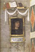 Bernardino Pinturicchio Self-Portrait oil painting reproduction