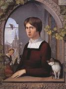 Friedrich overbeck Franz Prorr oil painting