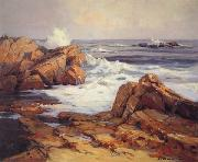 Jack wilkinson Smith Evening Tide,California Coast oil painting