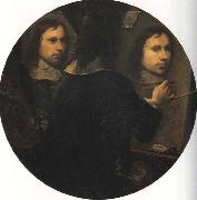 Johannes Gumpp Self-Portrait oil painting