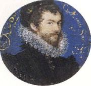 Nicholas Hilliard Self-Portrait,Aged Thirty oil painting