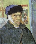 Vincent Van Gogh Self-Portrait with Bandaged Ear oil painting reproduction