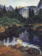 karl yens Yosemite oil painting