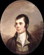 Alexander Nasmyth robert burns oil painting