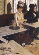 Edgar Degas l absinthe oil painting reproduction