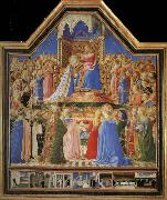 Fra Angelico Yan added the Virgin Festival oil painting reproduction