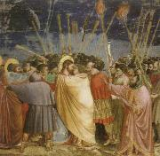 Giotto The Betrayal of Christ oil painting reproduction
