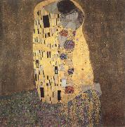 Gustav Klimt the kiss oil painting reproduction
