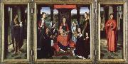 Hans Memling the donne triptych oil painting reproduction