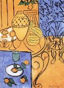 Henri Matisse Yellow and blue oil painting reproduction