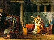 Jacques-Louis David The Lictors Bring to Brutus the Bodies of His Sons oil painting reproduction