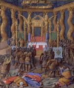 Jean Fouquet Pompey in the Temple of Jerusalem, by Jean Fouquet oil painting reproduction