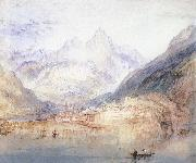 Joseph Mallord William Turner Landscape oil painting reproduction
