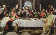 Juan de Juanes the last supper oil painting reproduction