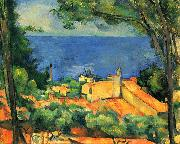 Paul Cezanne L Estaque oil painting reproduction