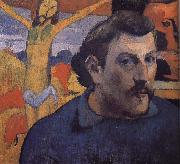 Paul Gauguin Yellow Christ's self-portrait oil painting reproduction