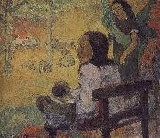 Paul Gauguin Baby oil painting reproduction