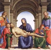 Pietro Perugino pieta oil painting reproduction