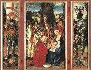 BALDUNG GRIEN, Hans Adoration of the Magi oil painting reproduction