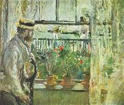 Berthe Morisot Eugene Manet on the Isle of Wight oil painting reproduction