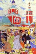 Boris Kustodiev Fair oil painting reproduction