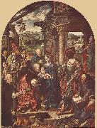 CLEVE, Joos van Adoration of the Magi oil painting reproduction