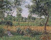 Camille Pissarro early oil painting reproduction
