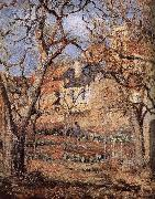 Camille Pissarro Garden oil painting reproduction
