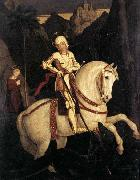 Franz Pforr St George and the Dragon oil painting reproduction