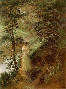 Frederick Mccubbin The Letter oil painting reproduction