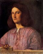 Giorgione The Berlin Portrait of a Man oil painting reproduction